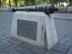 Battery Park Cannon