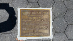 Image of Union Square National Historic Landmark Plaque