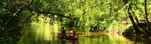 Canoeing on the Bronx River