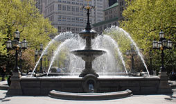 Fountains in NYC Parks