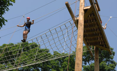 Alley Pond Adventure Course