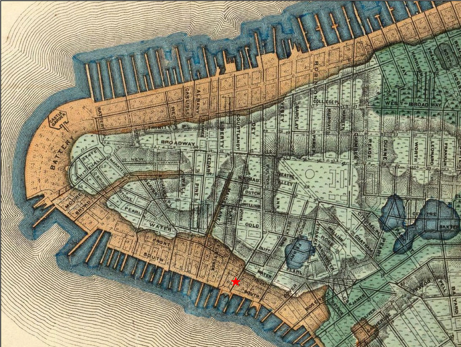 Archaeological Discovery at Burling Slip : NYC Parks
