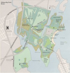 Pelham Bay Park Map Pelham Bay Park – The Country in the City : Natural Resources