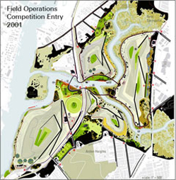 Field Operations Conceptual Site Plan 2001-2002