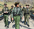 Work at Parks Enforcement - Parks Enforcement Patrol officers on duty