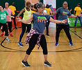 Work at Parks Recreation & Programming - shape up NYC program instructor teaching dances