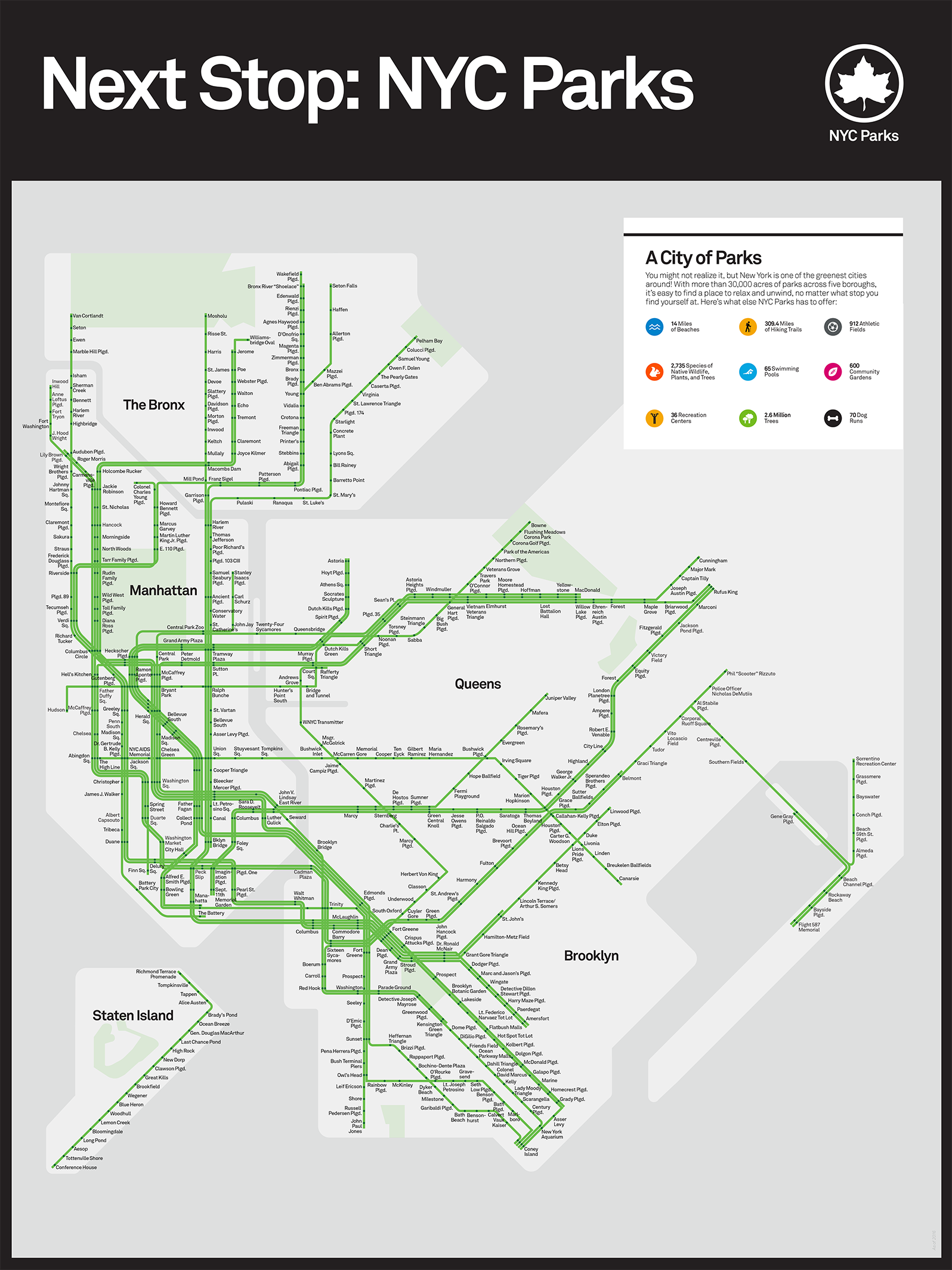 N R Subway Map Nyc.Next Stop Nyc Parks Nyc Parks