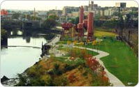 Concrete Plant Park, 2009, photo by Malcolm Pinckney, New York City Parks & Recreation