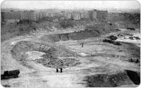 Construction of Williamsbridge Oval, 1934, New York City Parks Photo Archive