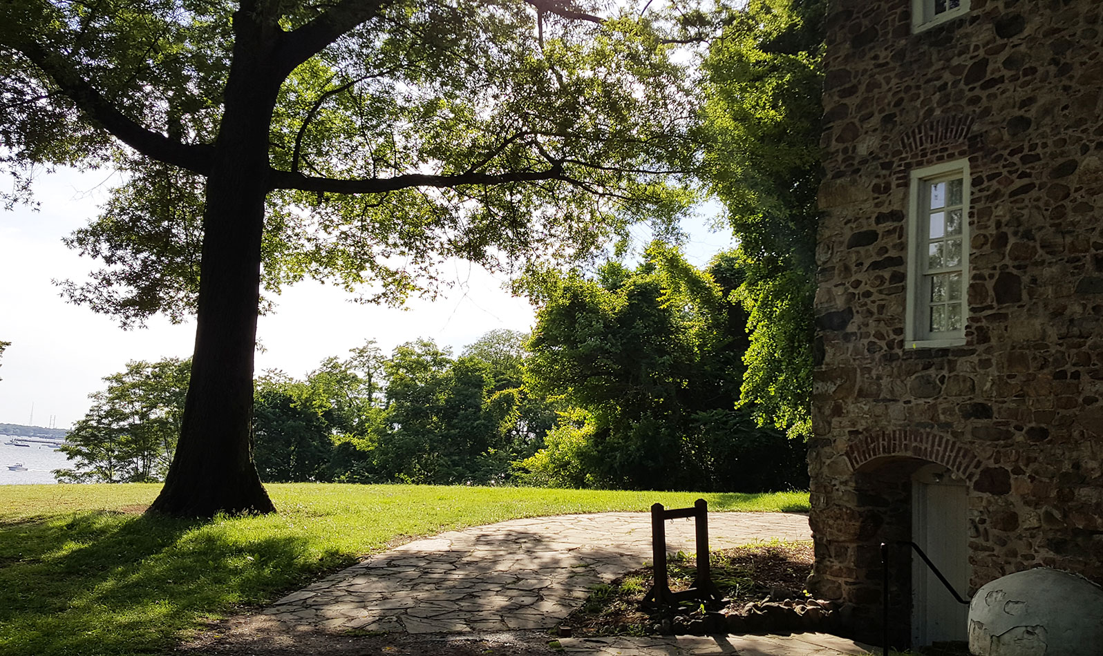 Spend some time exploring Conference House Park — NYC's southernmost park and home of a 17th-century manor on a hill that looks out over Raritan Bay.