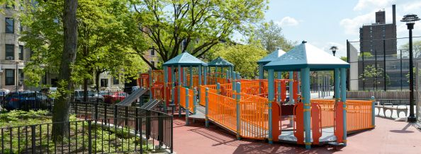 Brooklyn's Stroud Playground is one of hundreds of parks renovated through the Parks capital process each year.