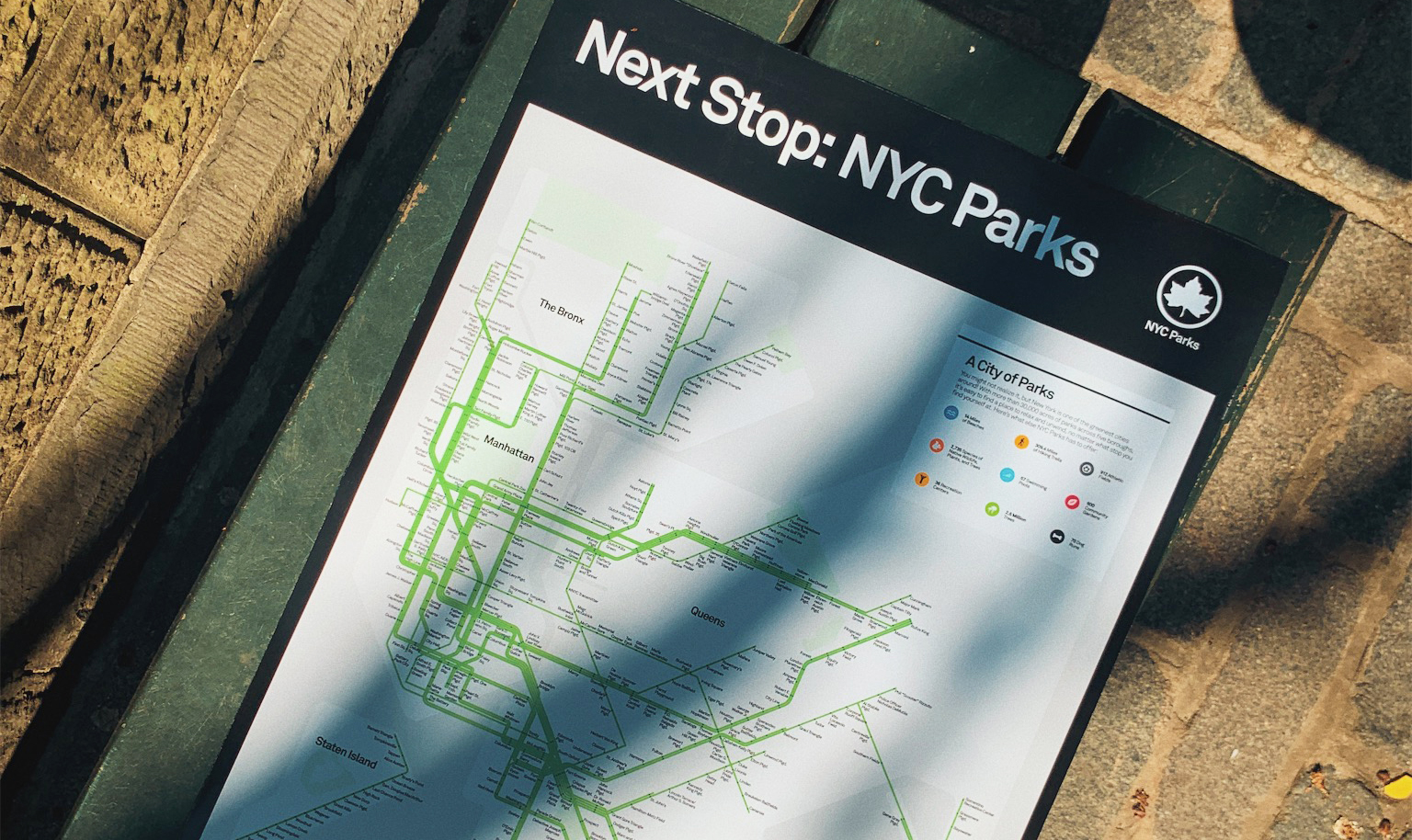 NYC Parks Subway Poster - $28