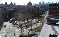 Bird?s-Eye View of Bleecker Street Playground and Sitting Area, 2010, Photograph by Jonathan Kuhn