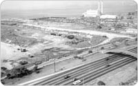 Bird's-Eye View of Dreier-Offerman Park (now Calvert Vaux), 1968, New York City Parks Photo Archive