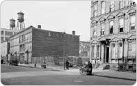 Vacant Lot at Floyd Street, Marcy and Park Avenues, October 9, 1940, New York City Parks Photo Archive