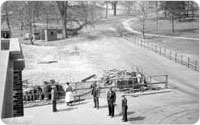 Owl's Head Park, view from roof of comfort station, March 20, 1935, New York City Parks Photo Archive