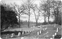 Quaker Friends Cemetery, Prospect Park, 1946, New York City Parks Photo Archive