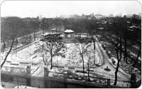 Bird's-Eye View of Hudson Park, circa 1902, New York City Parks Photo Archive
