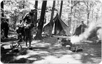 Boy Scout Camporee, 1943, courtesy of Ten Mile River Scout Museum