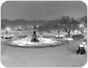 Image of Peaceful early evening at Bethesda Fountain (Central Park) on New Year's Eve 1967, before the arrival of revelers