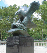 East Cost Memorial, maintenance 13, August 16, 2007
