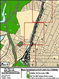 Bronx Forest and Shoelace Park Entitation Unit Map (1)