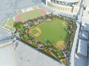 Rendering of proposed Yankee Stadium redevelopment