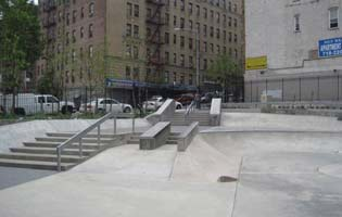 River Avenue Pocket Parks Skate Park