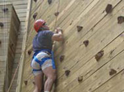 The Climbing Wall high element