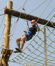 Alley Pond Park Adventure Course