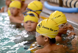 A Swim for Life class