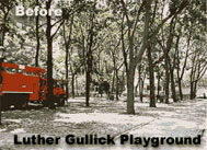Luther Gullick Playground Before
