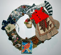 "Photo of ""Lizzy Raccoon's Winter Wreath"" by Judith Hoffman Corwin"