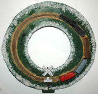 "Photo of ""Rail Wreath"" by John J. Mattera and John S. Mattera"