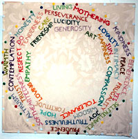 "Photo of ""The Sampler My Mother Taught Me"" by Monika E. de Vries Gohlke"