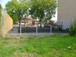 PS 138X before construction of playground