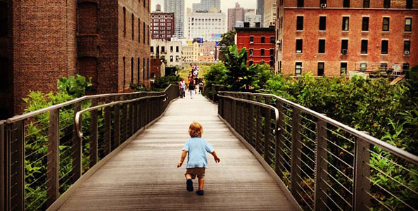 Baby vs. City, High Line, Kendra Canty