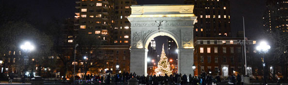 Holiday Lightings Nyc Parks
