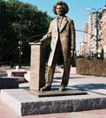 Frederick Douglass statue, Frederick Douglass Circle, 110th Street and Eighth Avenue, Manhattan