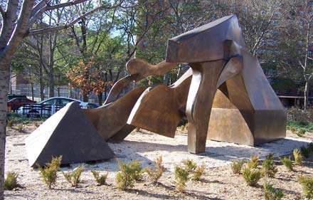 Harlem Hybrid by sculptor Richard Howe Hunt