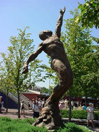 "Photo of ""Soul in Flight: A Memorial to Arthur Ashe"""