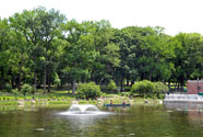 Lake in Crotona Park