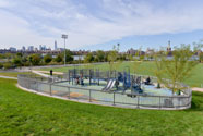 Playground at Bushwick Inlet Park