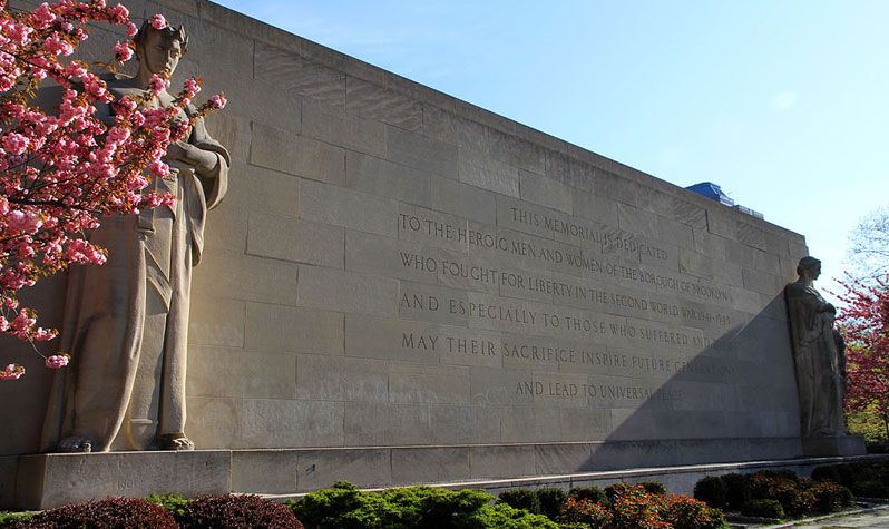 Brooklyn War Memorial, source: Wikicommons, Ingfbruno.