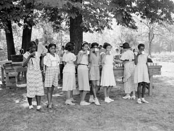 Day Camp, Inwood Hill Park, August 20, 1934