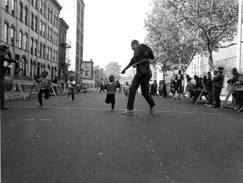 Sports Festival, Ralph Avenue and Madison Street, Brooklyn, October 8, 1966