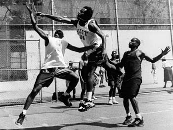 Basketball, West 4th Street Playground, Manhattan, May 20, 1996