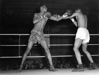 Cromwell Recreation Center Boxing Match, Cromwell Recreation Center, March 27, 1952
