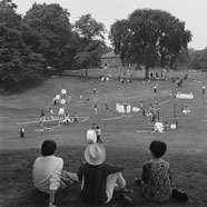 Giant Tinker Toys, Spring Festival, Prospect Park, May 28, 1968, NYC Parks Photo Archive