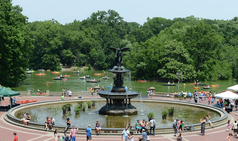 Fountains in New York City\'s Parks : NYC Parks